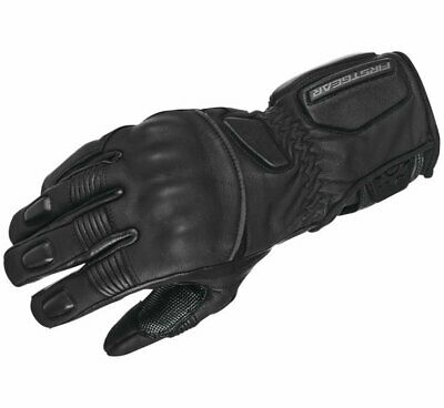 FirstGear Men's Outrider Motorcycle Riding Gloves Black Sizes