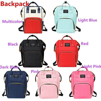 Mum Maternity Nappy Diaper Bag Large Capacity Baby Bag Travel Backpack Handbags