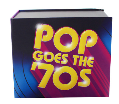 Pop Goes the '70s (CD, October 2, 2015, 10 Discs, Time/Life Music) Audio CD
