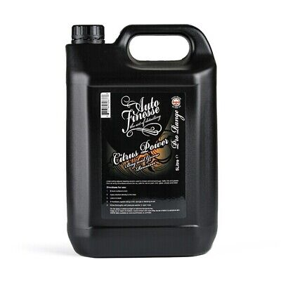 Auto Finesse CP5L 5L Citrus Power Bug & Grime Remover 5 Litre Degreasing