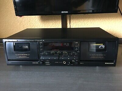 Top Modell Pioneer CT-W604RS Doppel Hifi / Stereo Tapedeck 2x Autoreverse
