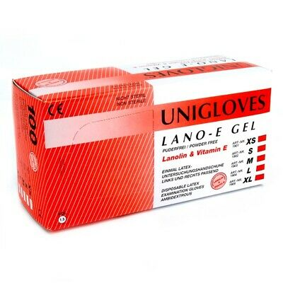 Latex Work Gloves 100 Pieces XL Powder Free Non Handed - Triple QX ECP813795839