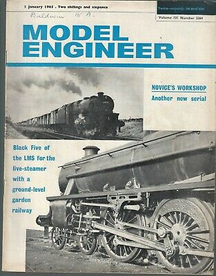 Model Engineer Magazine 1965 Complete Vol.131 3264-3287 24 Issues