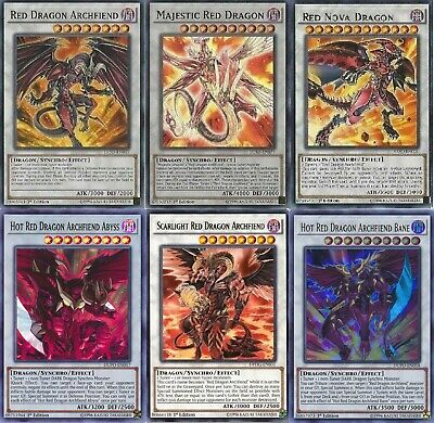 Yugioh Red Dragon Archfiend 2019 Deck - Bane  - Hot - Nova - Abyss - 55 Card