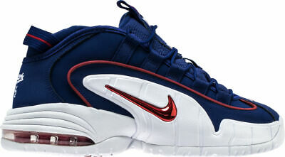 YOUTH NIKE AIR Max Penny LE GS Basketball Shoes Red White