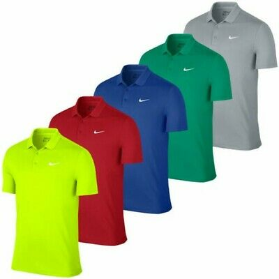 Nike Golf pour Hommes Victory Solide LC Drifit Performance Polo