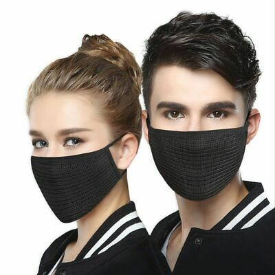 Activated Carbon Dust-proof Cycling Face Mask  Bicycle Bike Training Face Shield