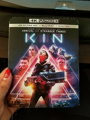 Kin (4K Ultra HD + Blu-ray + Digital, 2018, w/slipcover) NEW! Free Fast Shipping