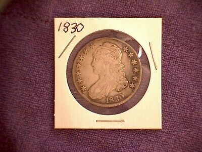 1830 Capped Bust Half Dollar (nice coin)