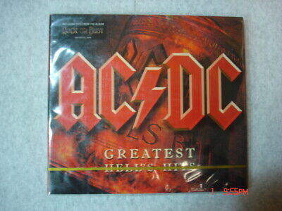 AC DC Greatest Hell's Hits Two Disc CD Brand New