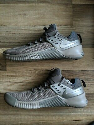 859246e1e83a2 Nike Metcon Free Viking Quest SZ10.5 Q0632-206 Grey Ridgerock Pewter  Crossfit