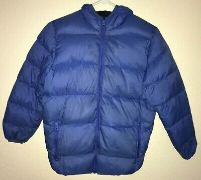6fe328085 BOYS RM 1958 Branson Puffer Winter Jacket Coat Size Small 7/8 Red ...