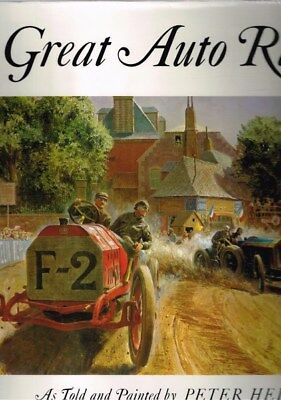 Great Auto Races by Peter Helck (Hardback)