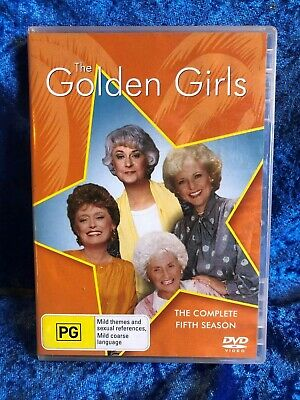 The Golden Girls Season 5 Region 4 DVD 3 Disk Set