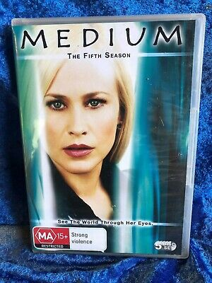 Medium Season 5 Region 4 DVD 6 Disk Set