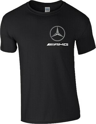 Mercedes-AMG T Shirt Mercedes Benz Formula F1 MotoGP Motorsport Racing Mens Top