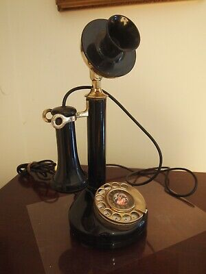 Vintage Western Electric Style Candlestick Telephone Phone