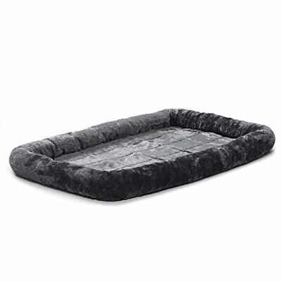 MidWest Deluxe Bolster Pet Bed for Dogs Cats Size: 48-Inch