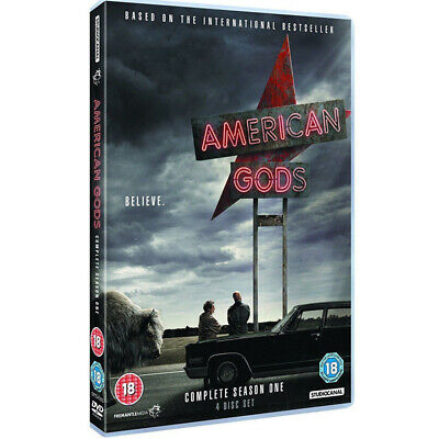 American Gods Season 1 The Brand New And Sealed UK DVD Region 2 Free Postage