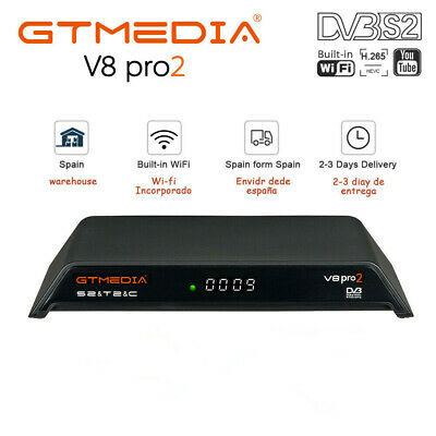 Gtmedia V8 Honor Built-in Wifi 1080P DVB-S2 H.265 Satellite TV Receiver+HD HDMI