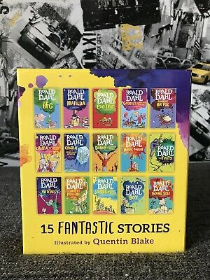 Roald Dahl 15 Books Collection Set Plus 1 Extra