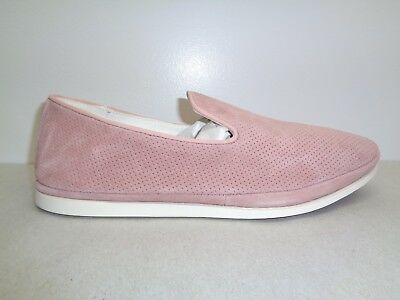 9060eb7d5ab Steve Madden Size 10 M DRIFT Pink Suede Leather Slip On Loafers New Mens  Shoes
