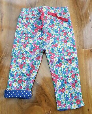 BABY BODEN GIRLS Supersoft Reversible FUN Trousers JOGGERS Y0211 BRAND NEW