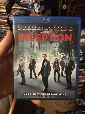 Inception (Blu-ray/DVD, 2010, 3-Disc Set)