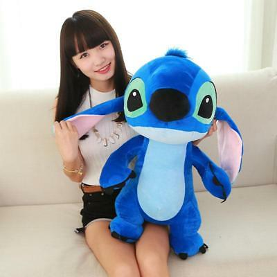 2019 Kawayi 60CM Dinesy Large Big Lilo Stitch Plush Baby Toy Doll Xmas Cute Gift