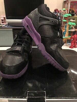 Details about 2010 NIKE AIR MAX 95 ATTACK PACK PONY HAIR BLACK PURPLE OG 1 97 609048 025 14