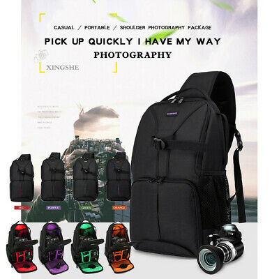 Camera Backpack Photo Case Waterproof Bag For Nikon For Canon For Sony DSLR New