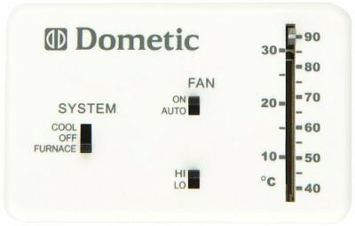 DOMETIC DUOTHERM THERMOSTAT Heat/Cool Analog Trailer RV Camper 3106995 032