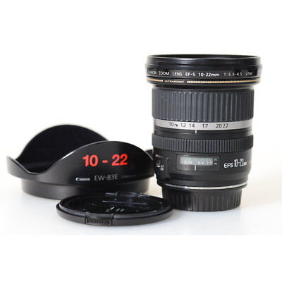 Canon EF-S 10-22 mm F/3.5-4.5 USM Wide Angle Zoom Lens