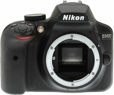 Brand New Original Nikon D3400 Body Only Digital SLR Camera FR