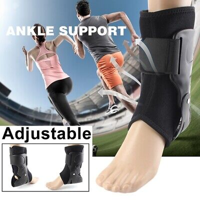 Ankle Support Brace Guard Injury Pain Stabilizer Tendon Protect Pad Adjustable