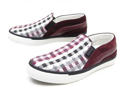 1f0cc0e4c67e Neuf Chaussures Louis Vuitton Twister Slip-On 6.5 41 Damier Basket Sneakers  550€