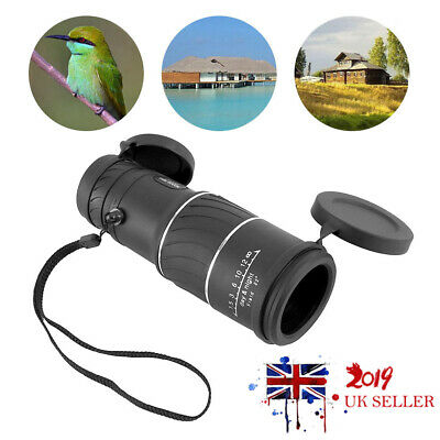 Day&Night Vision 30x52 Optical HD Monocular Hunting Camping Hiking Telescope New