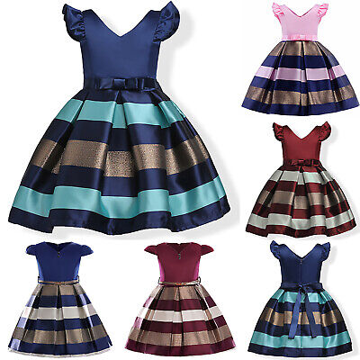 Girl's Dresses Wedding Formal Occasion Bridesmaid Flower Party Teen Pageant