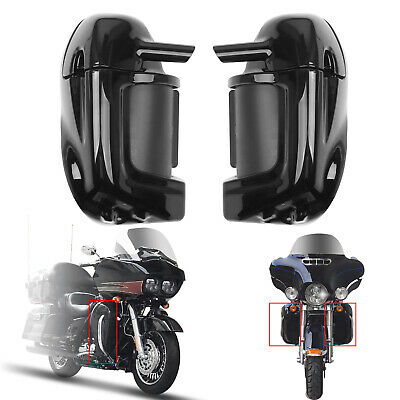 Lower Vented Leg Fairings Glove Box For Harley Touring Road Street Glide 83-13 P