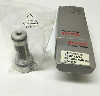 "Bosch Rexroth R928022726 Hydraulic Filter Polyester Element 15 Micron 1-5/16""-12"