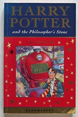HARRY POTTER & THE PHILOSOPHERS STONE / CELEBRATION 1st EDITION 1st PRINT PBK