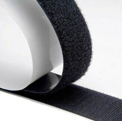 Hook Loop Tape 50mm Sticky Back Self Adhesive Stick On Fastener Tape Samgrip