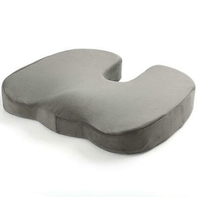 Memory Foam Seat Cushion - Coccyx Pillow for Lower Back, Hip & Sciatica