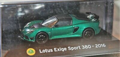 1:43 SuperCars Collection Lotus Exige Sport 380 2016