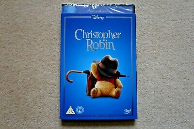 Disney Christopher Robin ( With Collectable Sleeve )  New Sealed Genuine Uk Dvd