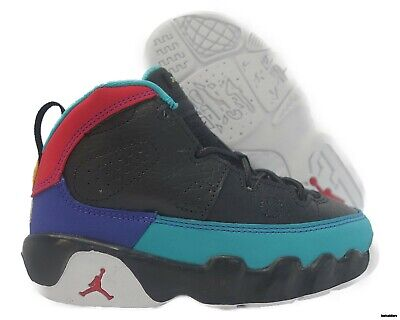 promo code 16c46 09268 401812-065 Air Jordan 9 Retro (Black   University Red) Toddler Sneakers