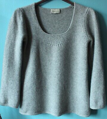 345fa692bd9 pull HECTOR   LOLA T 1 36 38 100% pur cachemire gris chiné