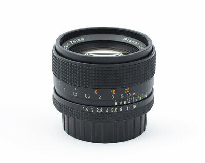 Carl Zeiss Planar T* 1.4/50 mm #6444547 Contax Yashica Mount Japan Lens