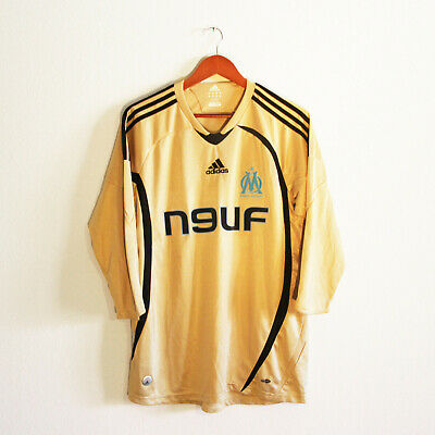 MAILLOT OM MARSEILLE Third 200809 adidas Taille M EUR