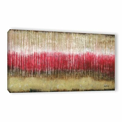 "34/""x34/"" BURNING HEART by FAUSTO MINESTRINI RED HOT FIRE CANVAS"